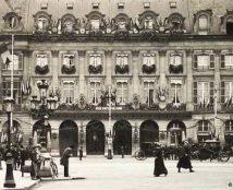 A inauguração do Ritz em 1898