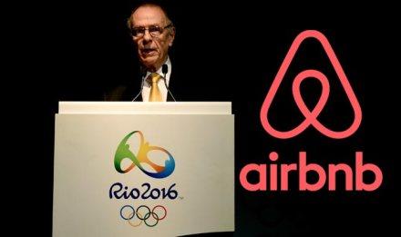 AirBnb parceira do Rio de Janeiro olímpico