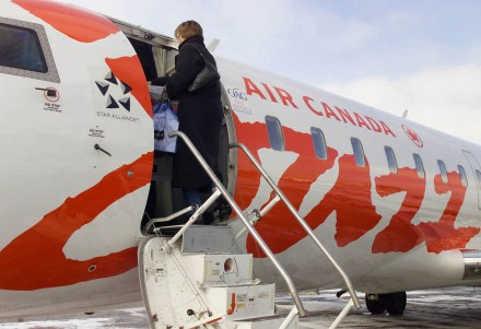 Jazz, subsidiaria low cost da Air Canada