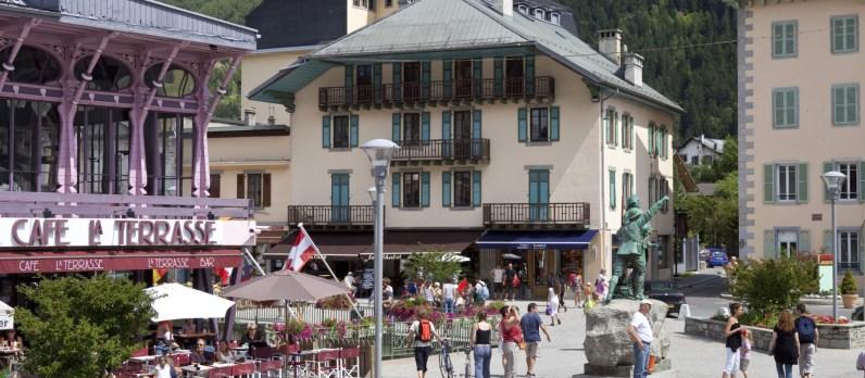 Chamonix - Le centre historique