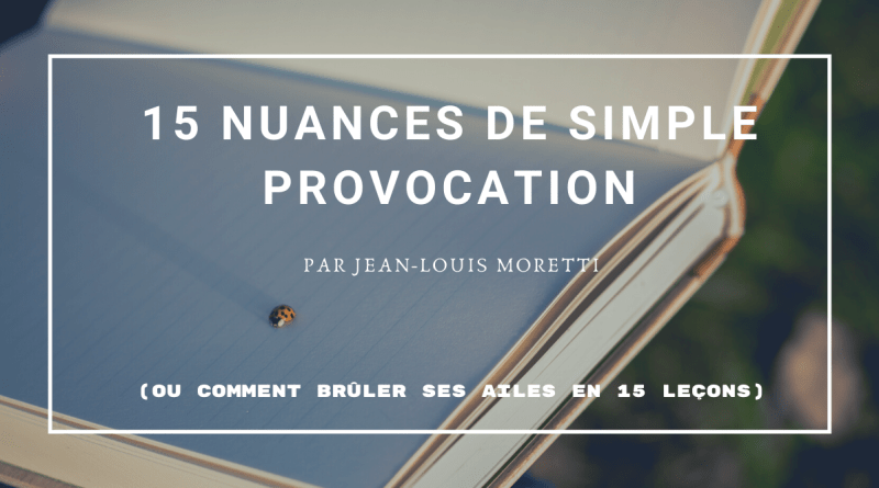 15 nuances de simple provocation - Le blog du hérisson