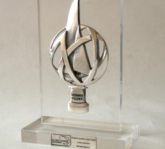 Trophée du vainqueur de la course réalisé par la fonderie Macheret - Le blog du hérisson