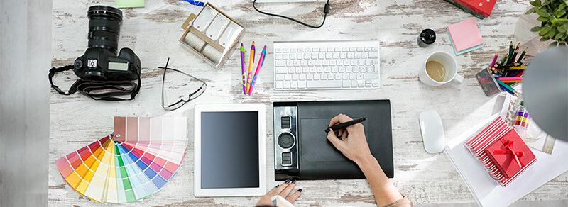Design graphique : identité visuelle et infographie web et print - Agence Le blog du hérisson
