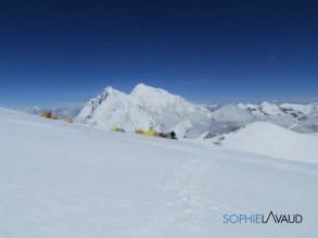 Everst et Lhotse vus du Makalula