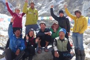 Kobler team Makalu summiters 2016
