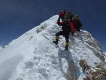 Nima on summit