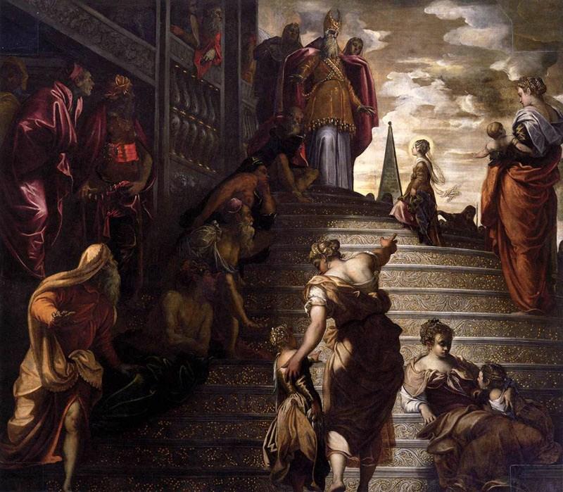la Présentation de la Vierge Marie au Temple.