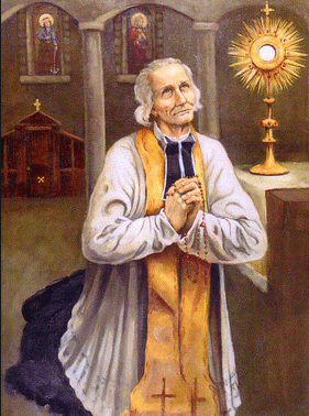 Image result for SAINT JOHN VIANNEY