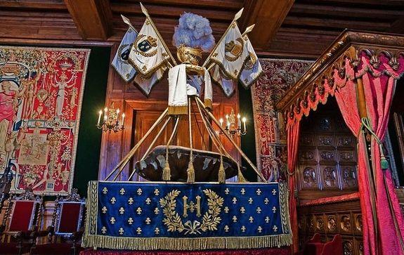 Carapace berceau de Henri IV au château de Pau