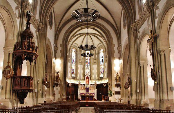 Pézilla-la-Rivière - église intérieur