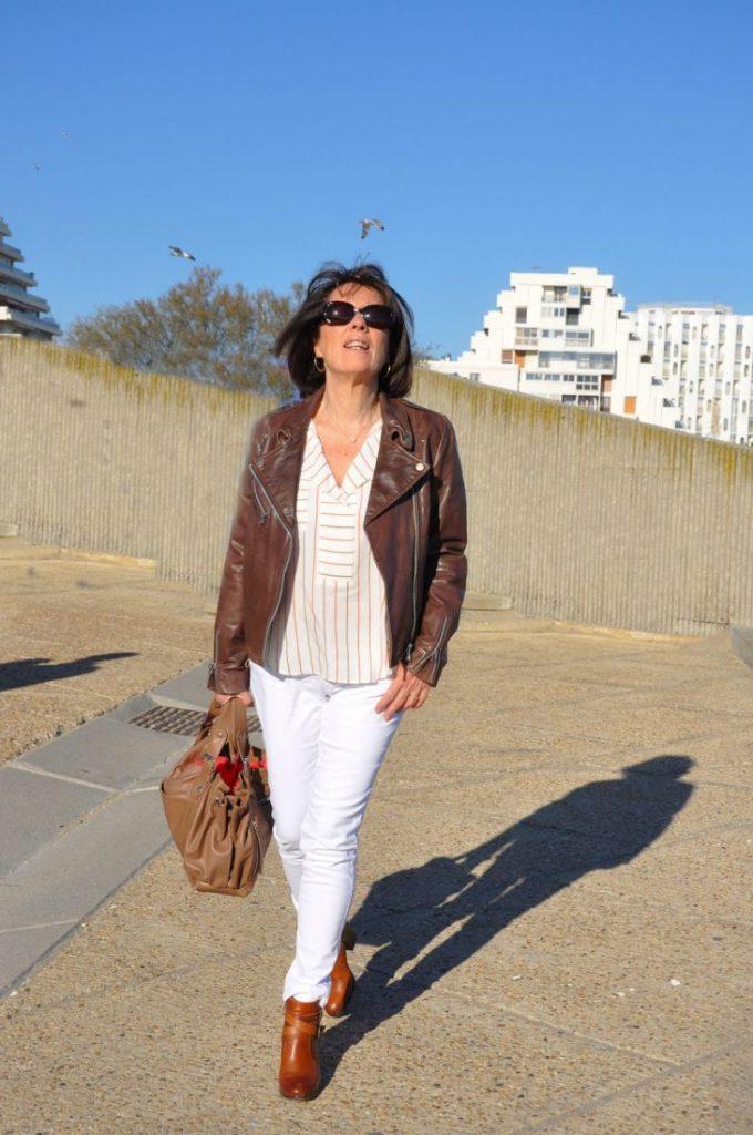 Du blanc, du soleil et un look Sinéquanone !