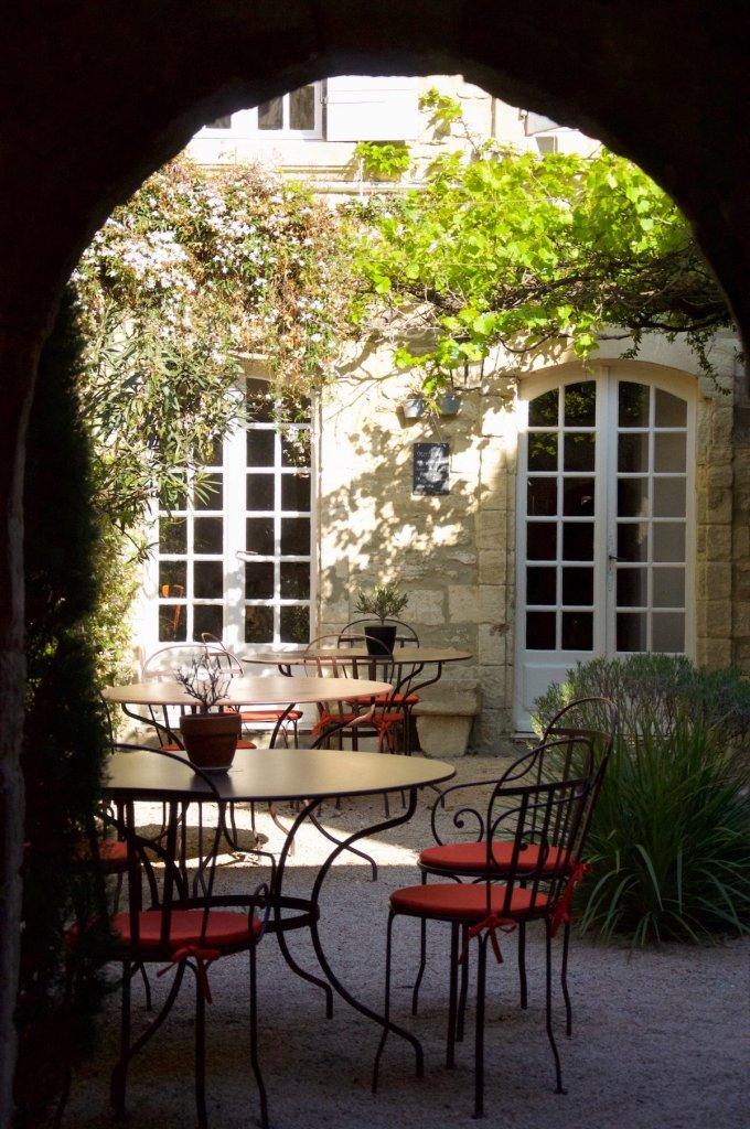 Hotel de l'Atelier à Villeneuve les Avignon.