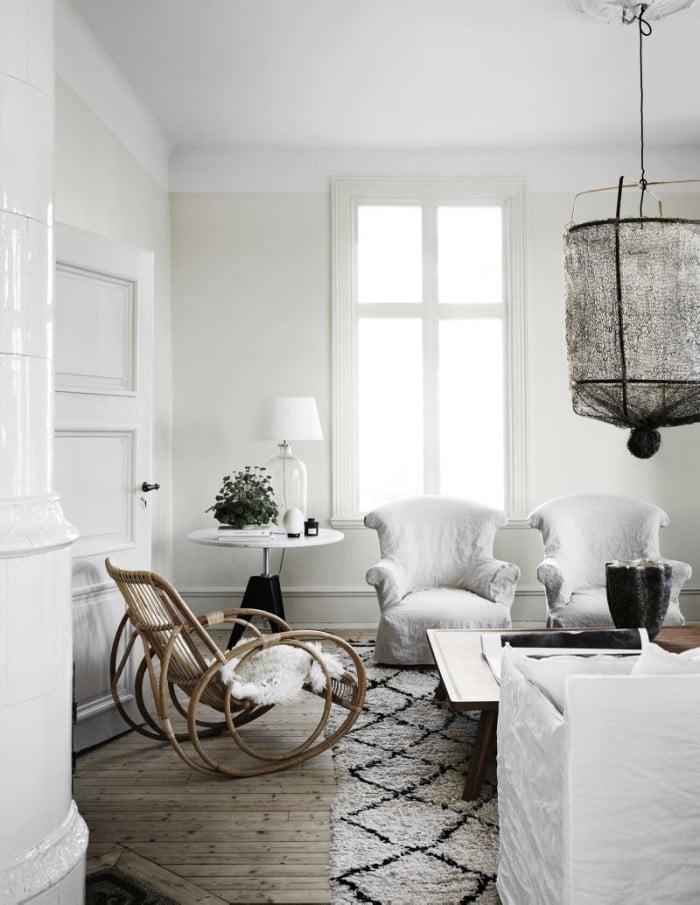 Le blanc minimaliste et magnifique