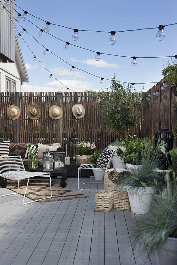 Travaux de saison : la terrasse
