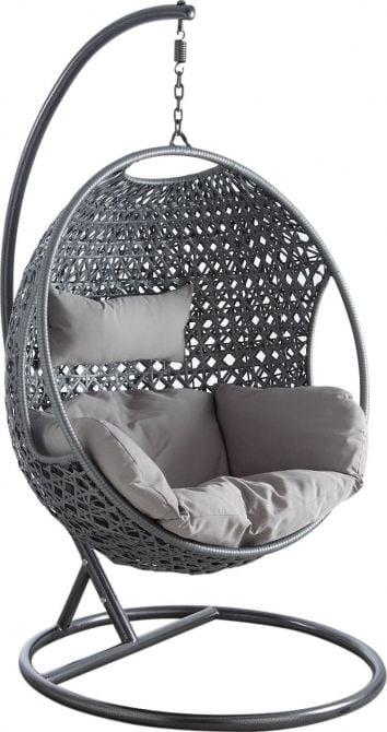 e fauteuil suspendu, une magnifique idée déco