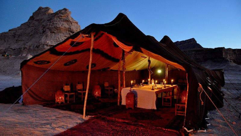 Maroc campement