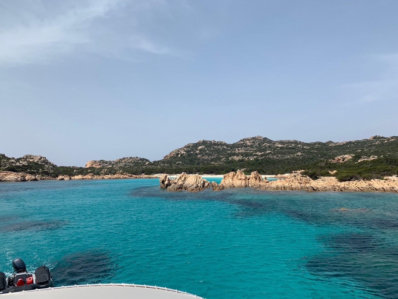 Visite des iles de la Maddalena