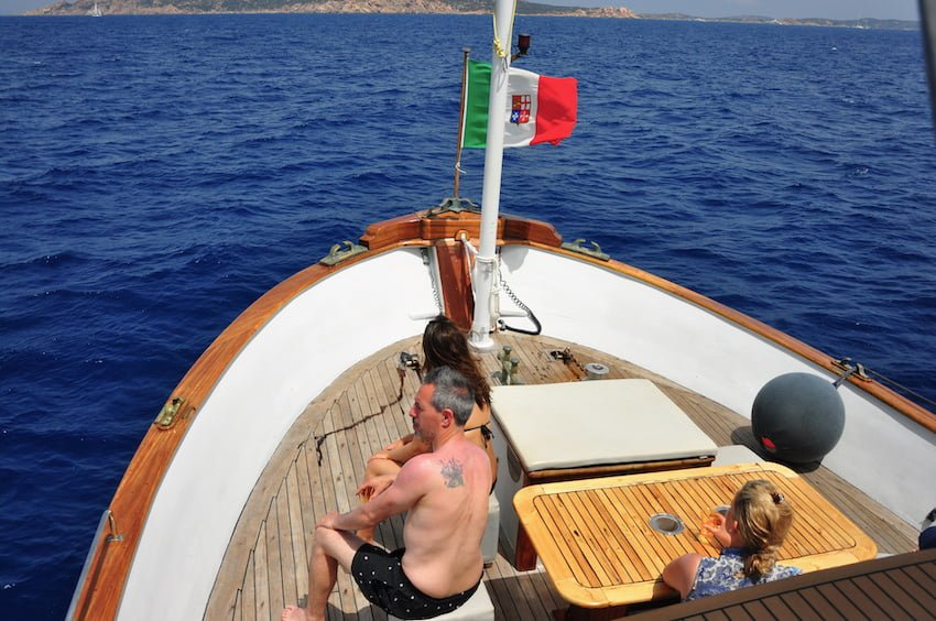 Le bateau vers les iles