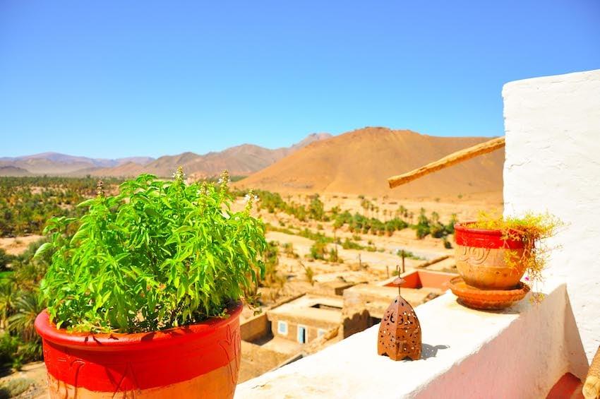 Maison d'hôte au Maroc