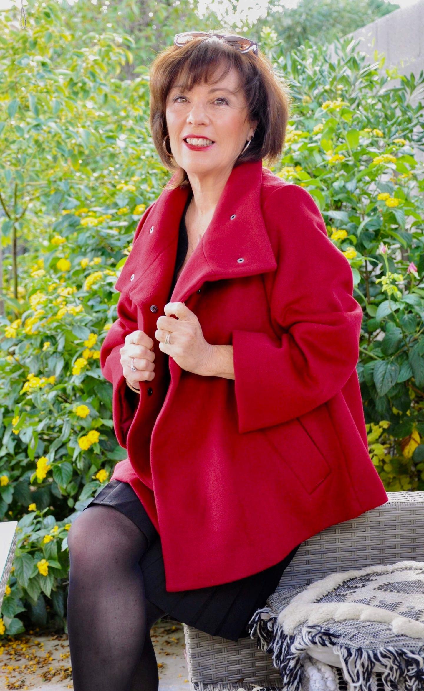 Veste rouge Elora