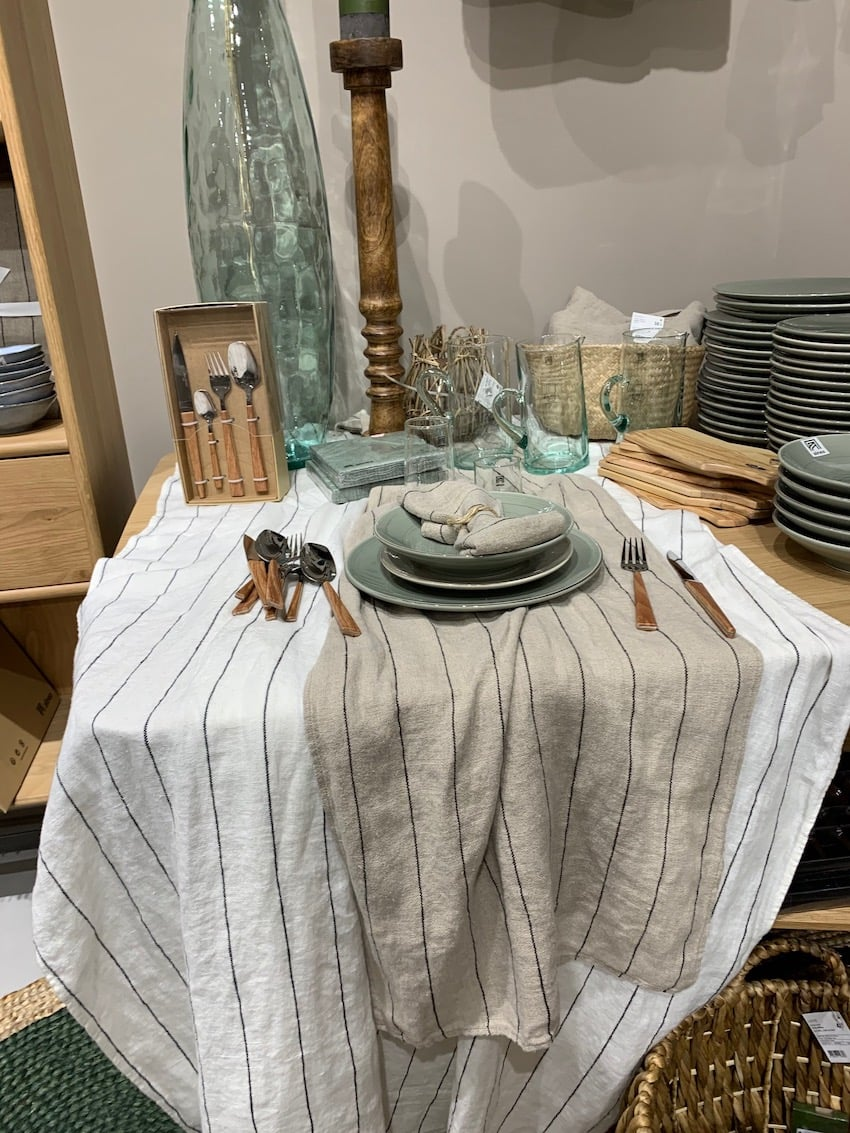 Dressage de table Alinéa