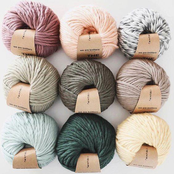 pelotes pour tricot