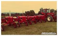 Le rouge IH omniprésent à Folles ! De très belles machines !