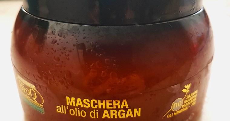 Maschera capelli olio di Argan, Qualikos