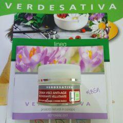 Crema viso rigenerante antiage - Verdesativa