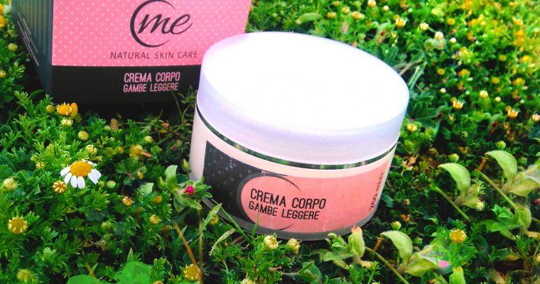 Crema corpo gambe leggere - Me Natural Skin Care