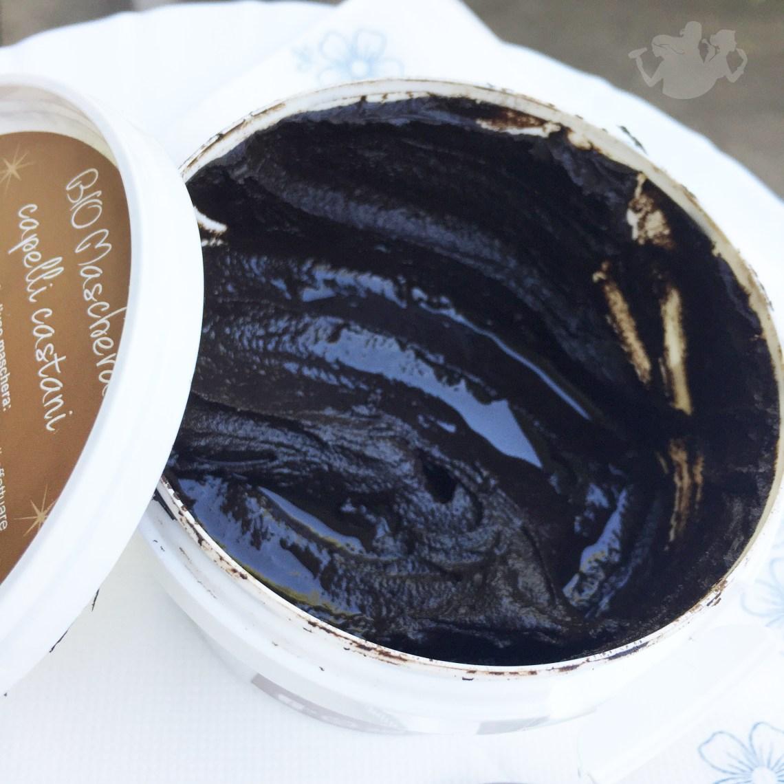 Maschera per capelli castani - Scintilla Bio