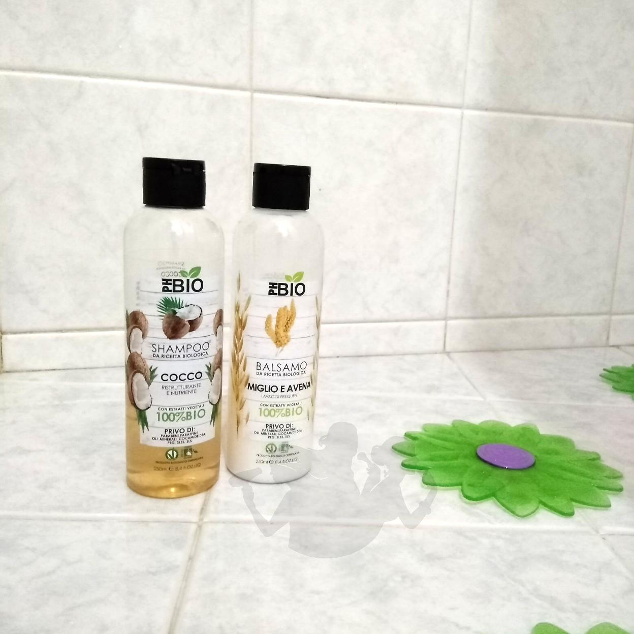 Shampoo e balsamo - PhBio