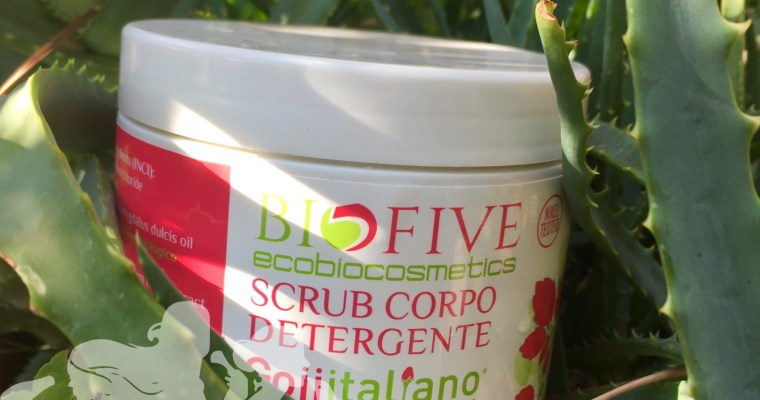 Scrub detergente Goji Italiano - Biofive