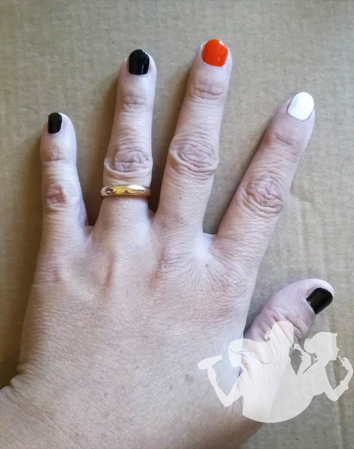 Una nail art terrificante... in tutti i sensi - Halloween 2018