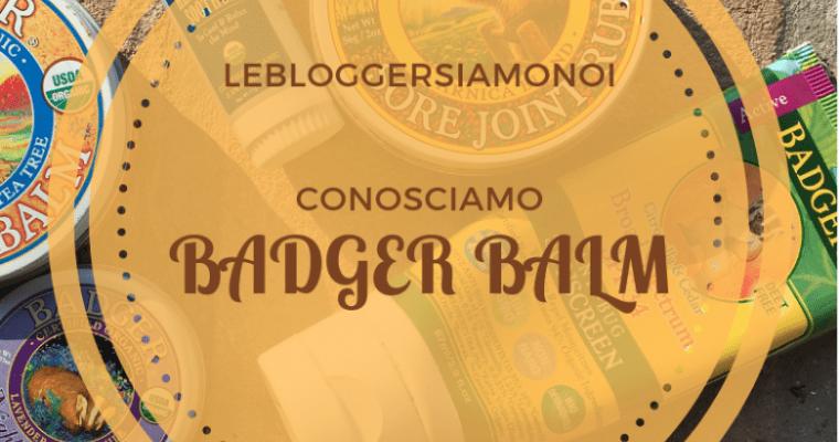 Bellezza da lontano: conosciamo Badger Balm