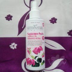Risciacquo acido al geranio rosa - Maternatura