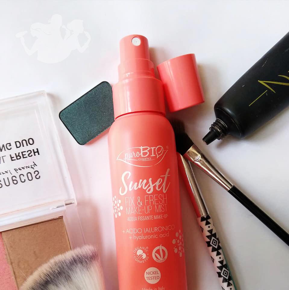 Spray fissante Sunset Fix&Fresh – puroBIO