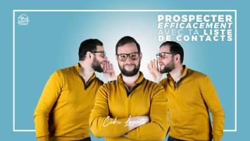 liste de contacts prospection immobilière Cédric Laporte