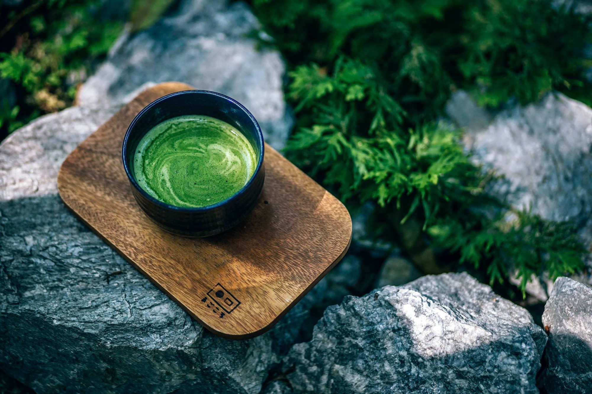 13 raisons de boire du the vert matcha