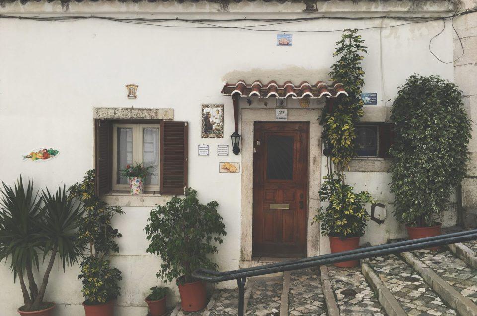 Lisbonne – Le quartier de l'Alfama