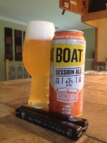 12- Carton Brewing - BOAT: session beers are more and more present in every brewery portfolio. This pale ale as has nothing to envy to others IPA. Very tasty, Very fruity and refreshing, especially by the beach !