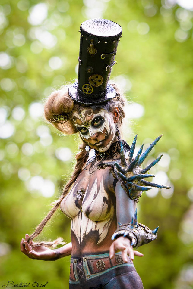 rencontre-bodypainting-france-steampunk