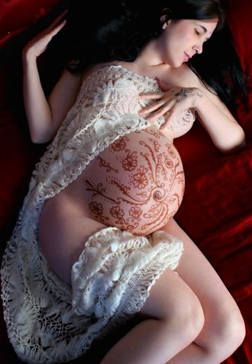 belly-painting-henne