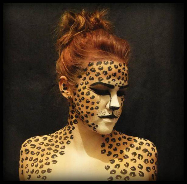 body-painting-leopard-facepaint
