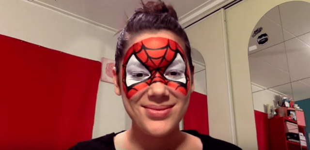 maquillage-spiderman-roxarosa