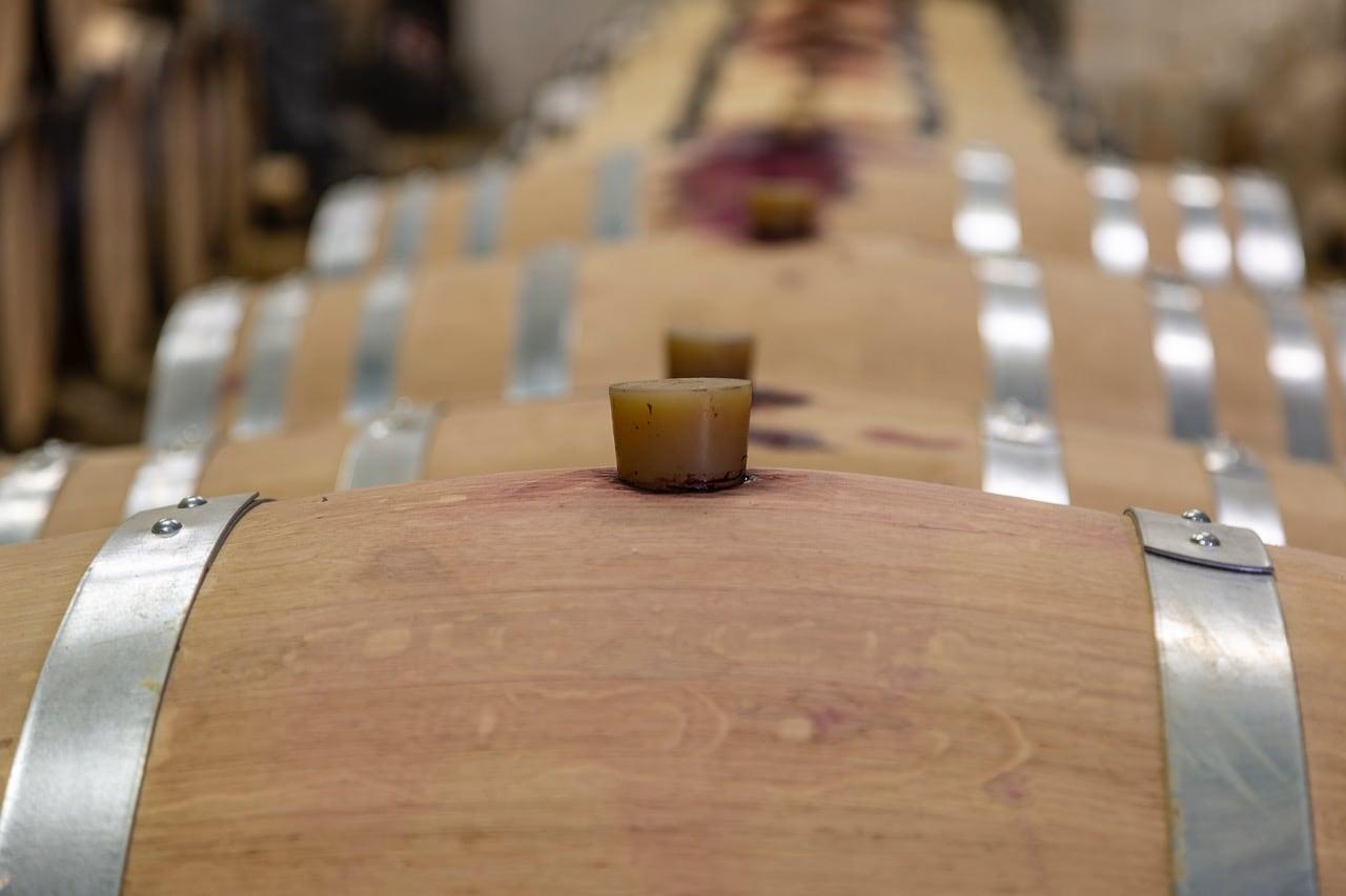 vin bio en barriques