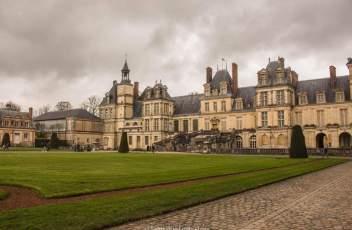 Château de Fontainebleau - entrée principale