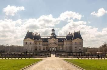 Vaux-le-Vicomte, point de vue de la Transparence
