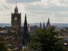 Edimbourg - vue sur New Town depuis Carlton Hill