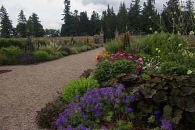 Le jardin clos de Glamis Castle